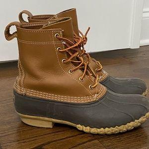 L.L. Bean Boots 8 Tan Brown boots LL Bean Original